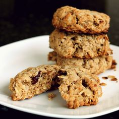 gluten free cherry walnut cookies...would love to do this with other types of dried fruit as well