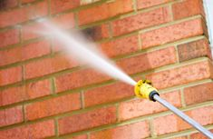 Brick homes are very beautiful but when they get dirty they can be difficult to clean. There are a few common methods of cleaning a brick home depending on