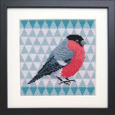 Scandinavian Design, Needlepoint, Mini, Flora, Cross Stitch, Textiles, Kids Rugs, Tapestry, Birds