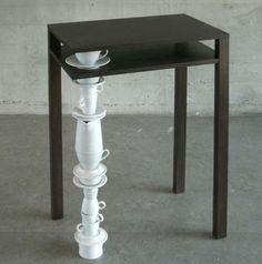 mischer'traxler's Ben Side Table Features an Odd Limb Out trendhunter.com