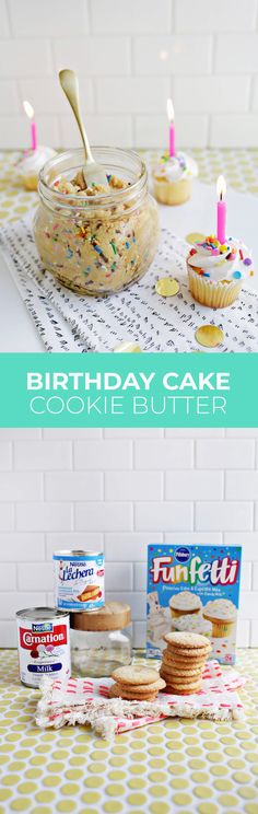 How to make birthday cake cookie butter