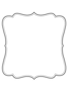 Clip Art Black And White Black And White Bracket Frame