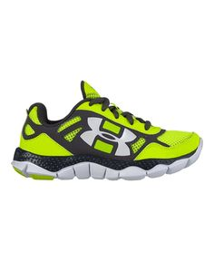 Under Armour Boys' Pre-School UA Engage BL Shoes 3 High-Vis Yellow. New in Box.