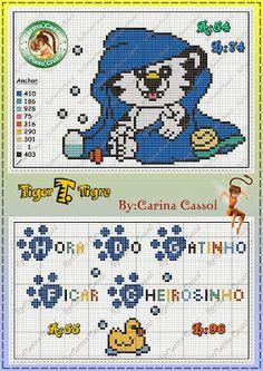 Magic dots: Graphics and Babs Ripilica Tigor T.Tigre