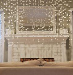 Marshmallow Christmas Via Blue Eyed Yonder Winter Whimsy Reveal   Vintage Event Rentals ~ Atlanta, Georgia