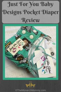 Just For You Baby Designs Pocket Diaper Review
