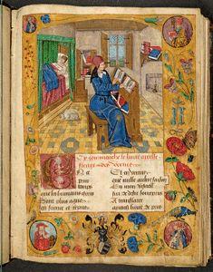 Fleurs de toutes vertus - UB Augsburg - Oettingen-Wallersteinsche Bibliothek - Cod.I.4.2.6, um 1500, Cod.I.4.2.6 (Oettingen-Wallersteinsche Bibliothek)