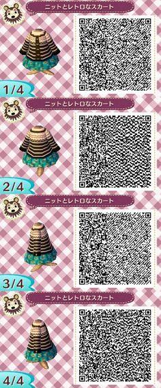 Cute outfit. qr codes.
