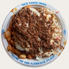 Article in Huffington Post on the Garbage Plate. Come visit Rochester, New York! Home of the Garbage Plate. #VisitROC