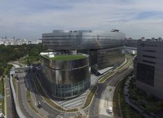 Mediacorp Campus in Singapore,© Future Stage Creations