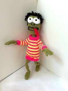 Crochet toy Monster Gift for kids Birthday by HouseInspiration