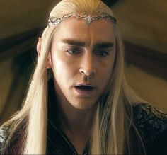 """The Arkenstone!"" Thranduil himself has no need for it. His Right to Rule is clearly established. The Hobbit Thranduil, Lee Pace Thranduil, O Hobbit, Sherlock Holmes Benedict, Watson Sherlock, Jim Moriarty, Sherlock John, Benedict Cumberbatch, Orlando Bloom Legolas"
