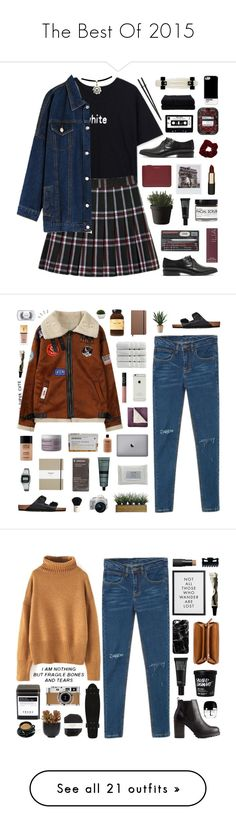 """The Best Of 2015"" by pure-and-valuable ❤ liked on Polyvore featuring Madewell, Comme des Garçons, Ilia, Mimco, Fig+Yarrow, Make, Muuto, Home Source International, bhalo and Birkenstock"