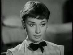 Audrey Hepburn screen test for Roman Holiday in 1950 which she later won an oscar for later that year.
