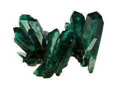 dioptase! the color is so lush..