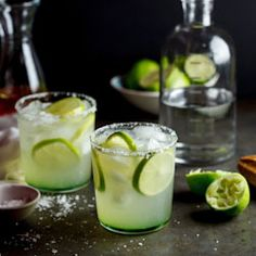 I find it odd that I haven't blogged a recipe for Margaritas before. It is my all-time favourite cocktail and one I order whenever it's on the