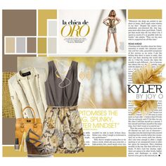 Taking the bronze - 3rd place in our #ecofashion #ecojewelry challenge: Eco Chica, created by kaylamae03 on Polyvore