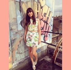 Lilah Parsons in Rare London Co-ords