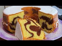 Kako Napraviti Mramorni Kuglof / How to Make a Marble Cake Cake Youtube, Marble Cake, Chocolate Shop, Recipe Details, Cake Cookies, Sour Cream, Cocoa, Cheesecake, Sugar