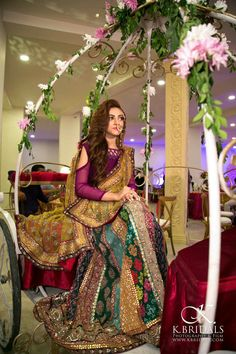 Looking for Bridal Lehenga for your wedding ? Dulhaniyaa curated the list of Best Bridal Wear Store with variety of Bridal Lehenga with their prices Pakistani Mehndi Dress, Bridal Mehndi Dresses, Pakistani Wedding Outfits, Pakistani Wedding Dresses, Bridal Outfits, Bridal Lehenga, Mehendi, Wedding Sari, Desi Wedding
