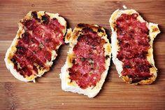 Mel e Pimenta: Dica para o churrasco - Pão de linguiça com alho