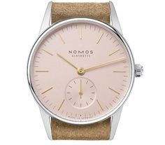"""Nomos Glashütte has revealed a new addition to its Orion collection: the Orion 33 Rosé. The Orion is known as the """"secret favourite"""" at Nomos Glashütte, as it is the watch of. Luxury Watches, Rolex Watches, Watches For Men, Rose Watch, Best Watch Brands, Watch Companies, Gold Hands, Mechanical Watch, Watch Sale"""