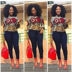 Collection of the most beautiful and stylish ankara peplum tops of 2018 every lady must have. See these latest stylish ankara peplum tops that'll make you stun African Print Dresses, African Print Fashion, Africa Fashion, African Fashion Dresses, African Attire, African Wear, African Dress, African Prints, African Blouses