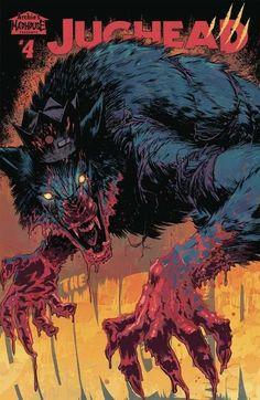 """Jughead Jones as a werewolf. Horror Comics, Horror Art, Fantasy Creatures, Mythical Creatures, Dark Fantasy, Fantasy Art, We All Mad Here, Wolf Hybrid, Werewolf Art"