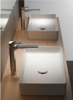 Laufen innovative ceramic sinks