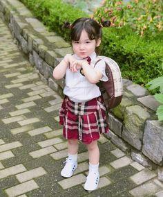 Ideas for baby girl cute ulzzang Cute Asian Babies, Korean Babies, Asian Kids, Cute Babies, Cute Little Baby, Cute Baby Girl, Little Babies, Baby Boy, Kids Girls
