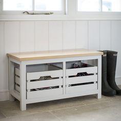 Garden Trading - Emsworth Storage Bench - Two Crate