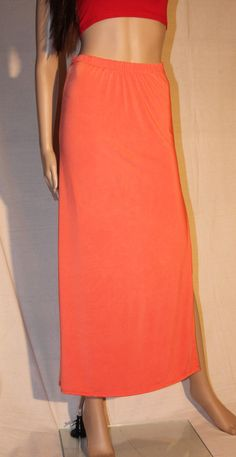 /beautiful-orange-maxi-skirt-with-slit-on
