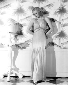 Ginger Rogers. I wonder what color the wallpaper is? Love Ginger Rogers!