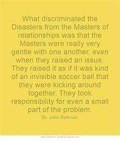 Four Horsemen of the Apocalypse by John Gottman, https://www.youtube.com/watch?v=CbJPaQY_1dc