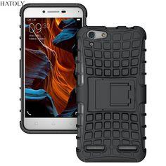用lenovo vibe k5 case k5プラスlemon 3 k32c36重いデューティ電話カバーハイブリッド耐震ハード鎧頑丈なゴムスタンドcoque * <