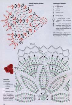 Home Decor Crochet Patterns Part 30 - Beautiful Crochet Patterns and Knitting Patterns Crochet Snowflake Pattern, Crochet Doily Diagram, Crochet Doily Patterns, Crochet Chart, Filet Crochet, Crochet Designs, Crochet Books, Crochet Home, Thread Crochet