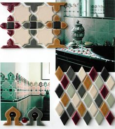 Moroccan inspired mosaics