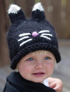 barnmössa Knitting For Kids, Baby Knitting, Stick O, Knitted Hats, Crochet Hats, Baby Hats, Little Ones, Knitting Patterns, Diy And Crafts