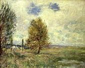The Plain at Veneux-Nadon - Alfred Sisley - www.alfredsisley.org