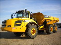 Our featured Articulated Dump Truck is a 2012 #Volvo A40F, 1,390 Hrs., Radio w/ CD, A/C, Automatic Traction Control, 465 HP, Rear View Color Camera. Check out our great selection of Volvo #ArticulatedDumpTrucks! You can view them all at: http://www.rockanddirt.com/equipment-for-sale/VOLVO/articulated-trucks #HeavyEquipment #ConstructionEquipment