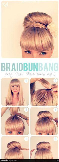 Hair and Food | Piękne włosy i zdrowe żywienie: Mnóstwo fryzur na sylwestra i nie tylko - łatwe tutoriale
