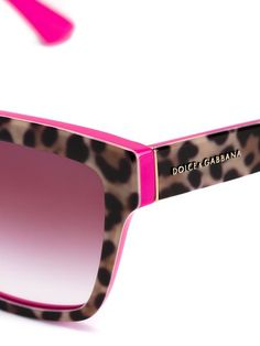 Dolce & Gabbana Eyewear leopard print sunglasses