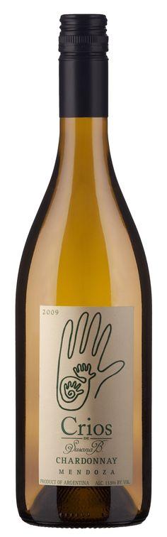 DOMINIO DEL PLATA / CRIOS CHARDONNAY  100 % Chardonnay    CRIANZA 30% en contacto durante 3 meses en roble Francés y 70 % sin paso por madera.