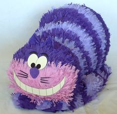 Alice in Wonderland Party!  Piñata: Cheshire Cat. $65.00, via Etsy.