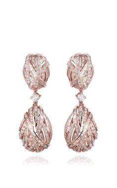 The Earring Of Eternity by Farah Khan Fine Jewelry for Preorder on Moda Operandi