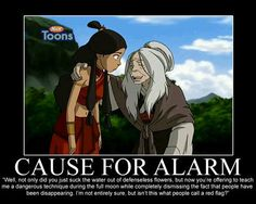 Avatar the last airbender - cause for alarm