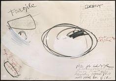 Gastone Novelli, Untitled (Homage to Samuel Beckett), 1960