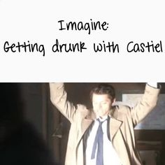 Shell be sixteen and Sams gonna be soo freaking mad lol Supernatural Angels, Supernatural Bloopers, Supernatural Tumblr, Supernatural Tattoo, Supernatural Imagines, Supernatural Wallpaper, Castiel, Good Morning Vietnam, Story Prompts