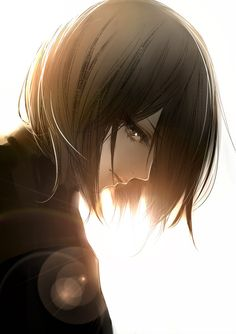 Attack on Titan; Mikasa Ackerman - The most beautiful silent yet deadly strong women <3
