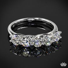 Five Stone Trellis Diamond Right Hand Ring with 5 0.30ct Expert Selection Diamonds